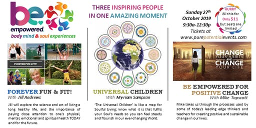BE Empowered with Fun Fit Soulful Living & Sustainable Positive Change