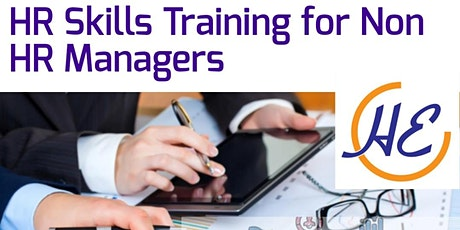 Training On Human Resource [People Management Skills] For Non HR Managers tickets