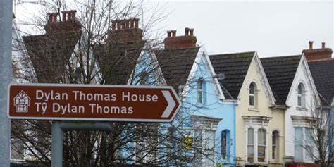 Taith Gerdded Dylan Thomas - UPLANDS - Dylan Thomas Walking Tour
