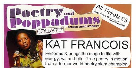 Poetry & Poppadoms feat. Kat Francois tickets