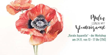 florale Aquarelle Tickets