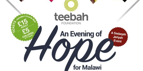 An  Evening of Hope for Malawi tickets