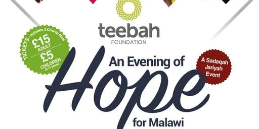 An  Evening of Hope for Malawi