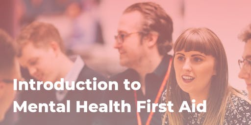 Introduction to Mental Health First Aid