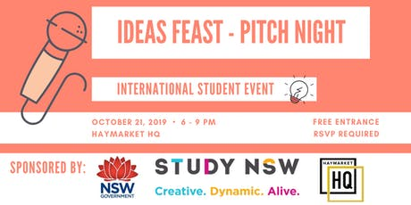 Ideas Feast - Pitch Night tickets