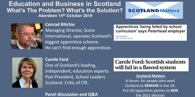 Education & Business in Scotland: What's the Problem?