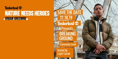 Nature Needs Heroes Breaking Ground Community Event tickets