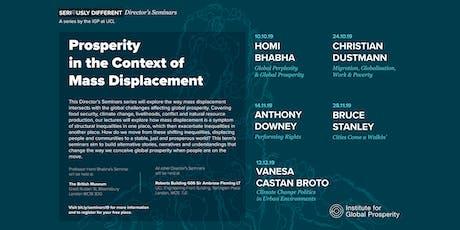 Director's Seminar: Climate Change Politics in Urban Environments tickets