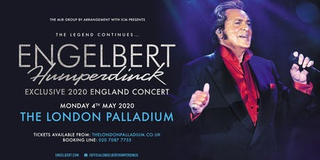 Engelbert Humperdinck (The Palladium, London) tickets