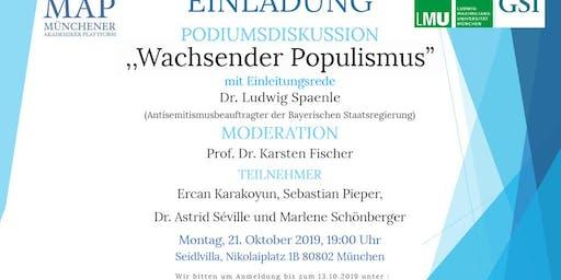 Wachsender Populismus