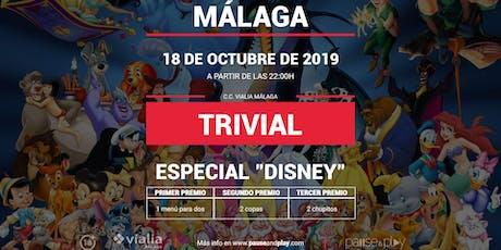 Trivial Especial Disney en Pause&Play Vialia Málaga entradas