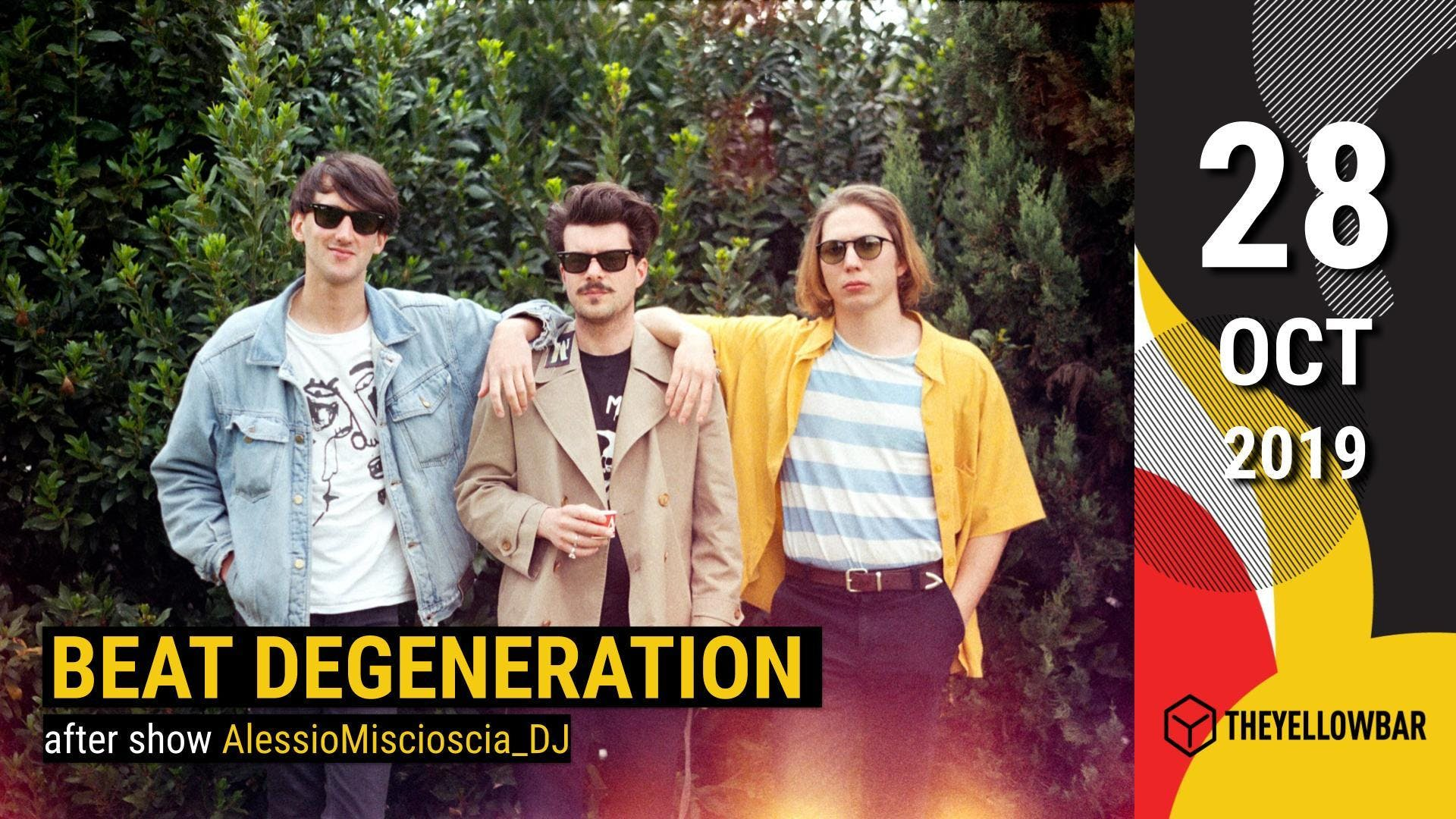 Beat Degeneration - The Yellow Bar