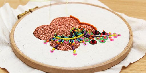Embroidery with Chloe Patience