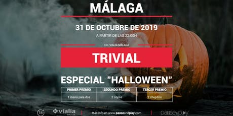 Trivial Especial Halloween en Pause&Play Vialia Málaga tickets