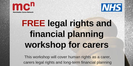 Legal Rights and Financial Planning session tickets