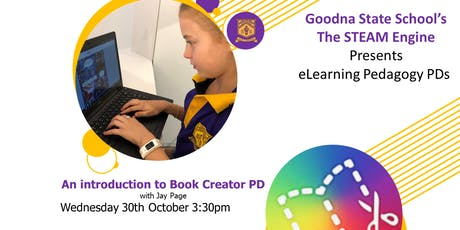 The STEAM Engine Presents An introduction to Book Creator tickets