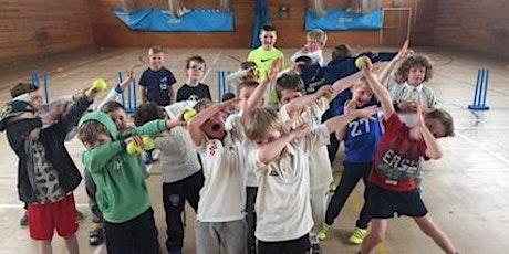 School Holiday Indoor Junior Cricket Coaching & Fun Days 2/1/20,18/2,19/2,15/4,16/4. tickets