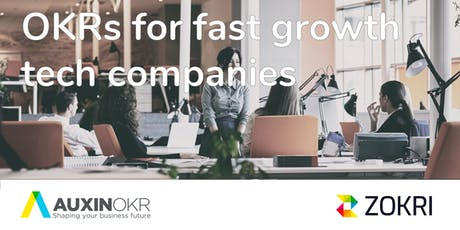 OKRs for fast growth tech companies tickets