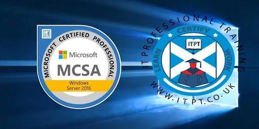 MCSA Server 2016: 70-740: Installing, Storage and Compute with Windows Server 2016