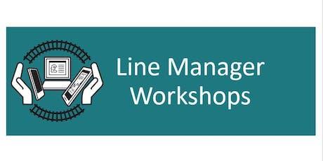 Line Manager Workshop - London JFH - Managing Sickness tickets