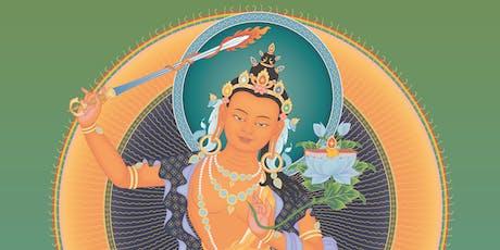 Manjushri  Empowerment tickets