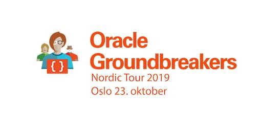Oracle Groundbreakers Nordic Tour 2019 (ACE Tour)