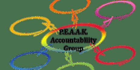 P.E.A.A.K. Accountability Group tickets