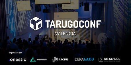 Tarugoconf Valencia 2019 entradas