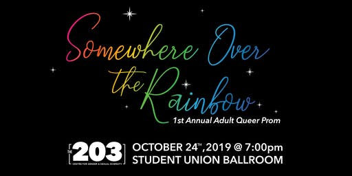 The 203 Centre Adult Queer Prom!