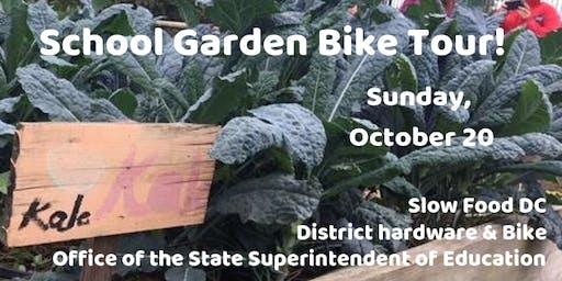 School Garden Bike Tour (Re-Scheduled!)