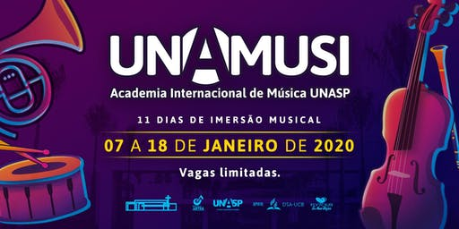 UNAMUSI - Academia Internacional de Música Unasp  [INSCRIÇÃO]