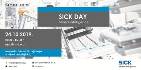 SICK - Sensor intelligence DAY tickets