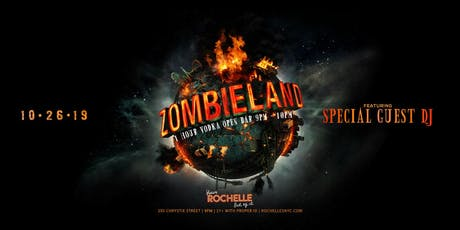 Zombieland at Rochelle's 10/26 tickets