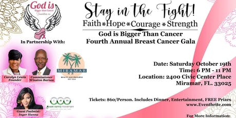 4th Annual Breast Cancer Gala tickets