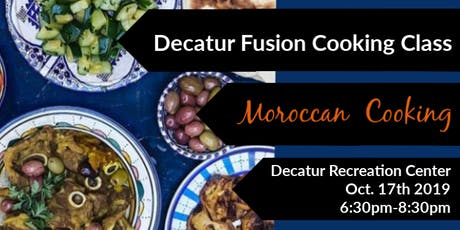 Cooking with Friends: Decatur Fusion (Moroccan) tickets