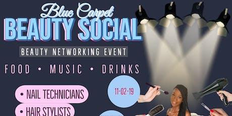 Blue Carpet Beauty Social tickets