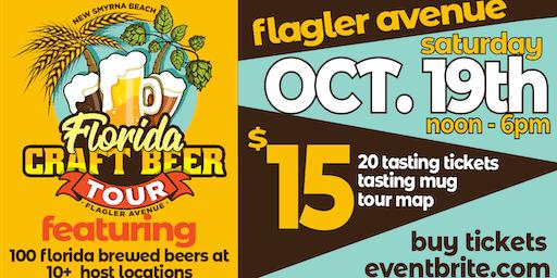 New Smyrna Beach Craft Beer Tour on Flagler Avenue