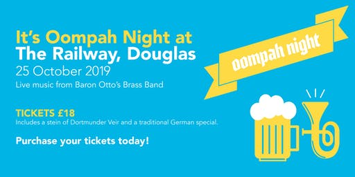 Oompah Night at The Railway