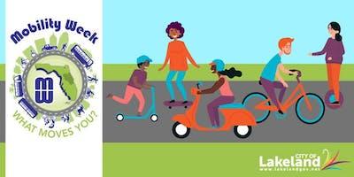 City of Lakeland Bike Then Work
