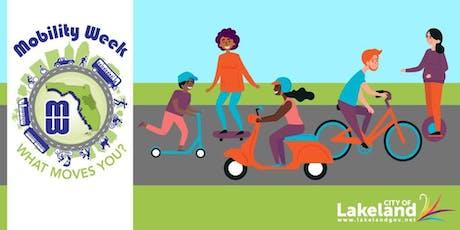 City of Lakeland Bike Then Work tickets