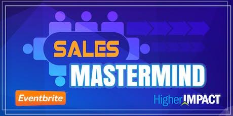 November Sales Mastermind Group tickets