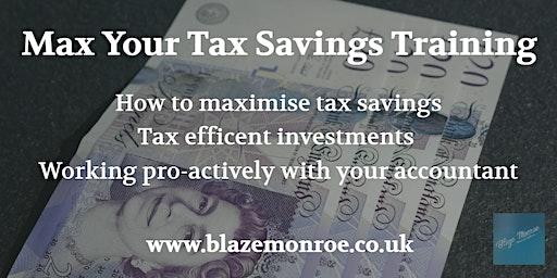 Max Your Tax Savings Training
