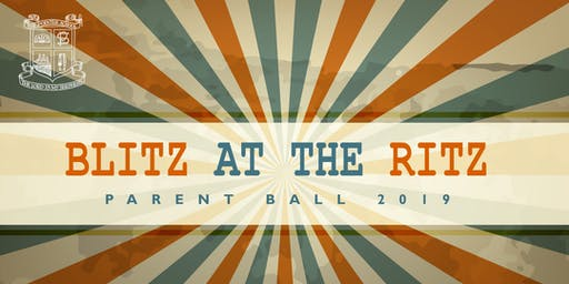 """Blitz at the Ritz"" Parent Ball 2019"