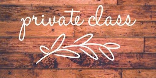 Private Class | Farmhouse/Pallet Sign Class | Oct 19 - 5pm | Tabitha L.