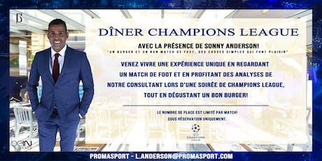 Dîner Champions League billets