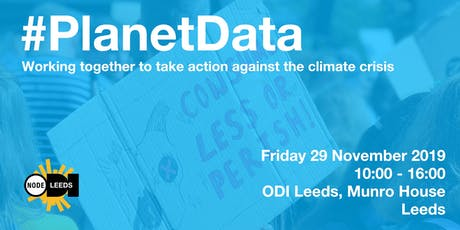 Planet Data 2019 - Radically Open Solutions to Climate Change tickets