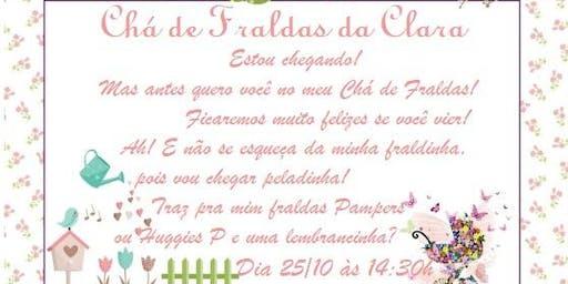 Chá de Fraldas da Clara