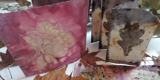Eco Printing: Winter Foliage