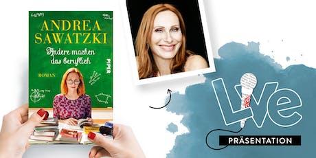 PRÄSENTATION: Andrea Sawatzki tickets