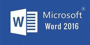 Microsoft Excel 2016 Introduction Workshop
